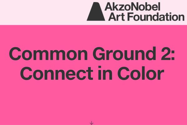 Common Ground part 2 – Akzo Nobel Art Space